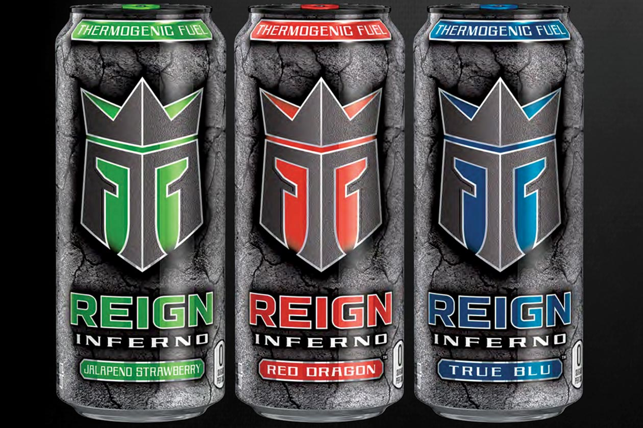 reign inferno energy drink