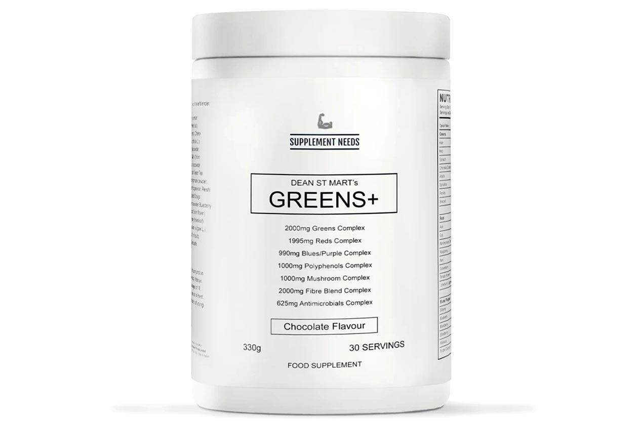 supplement needs greens