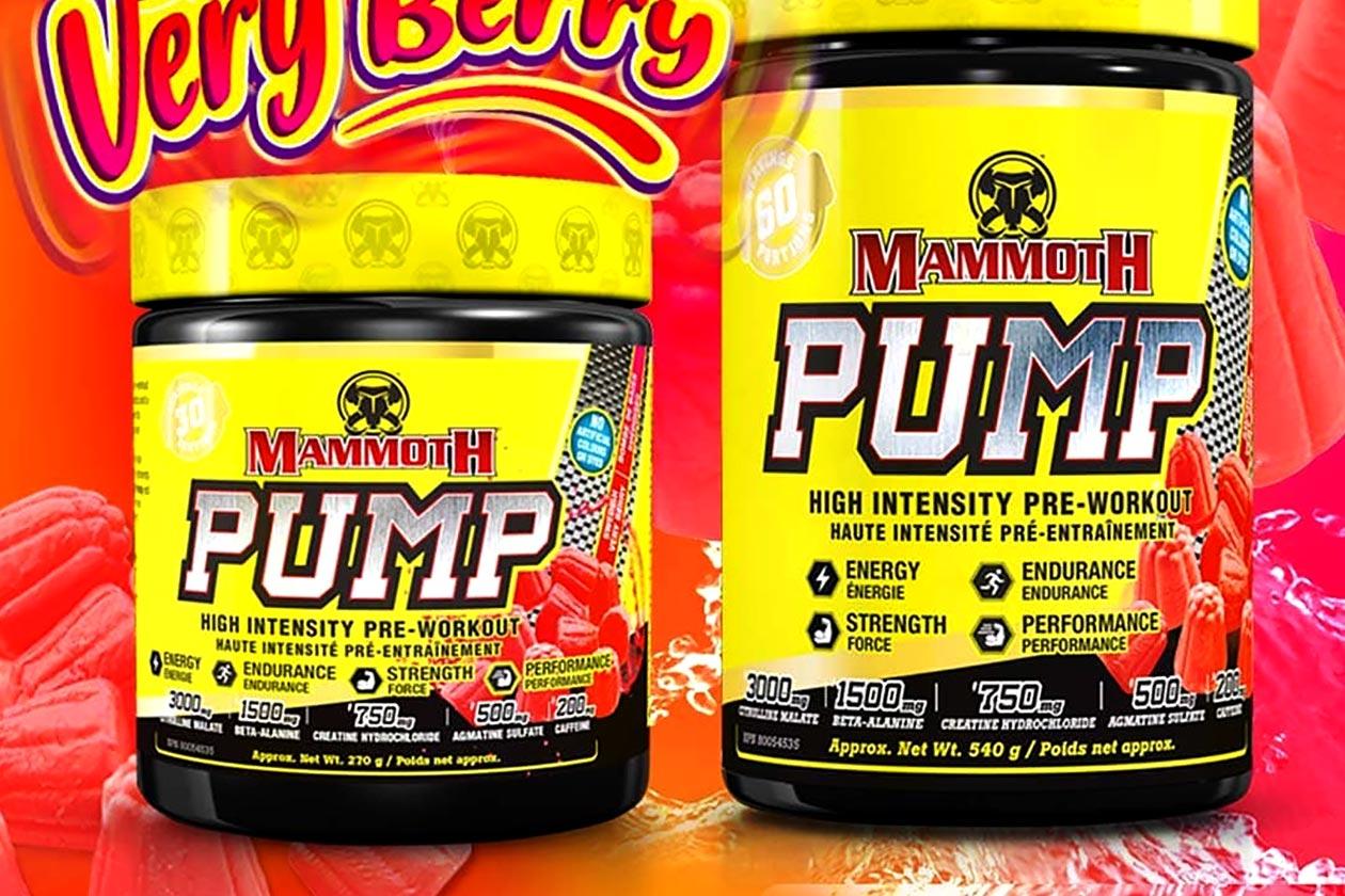swedish very berry mammoth pump