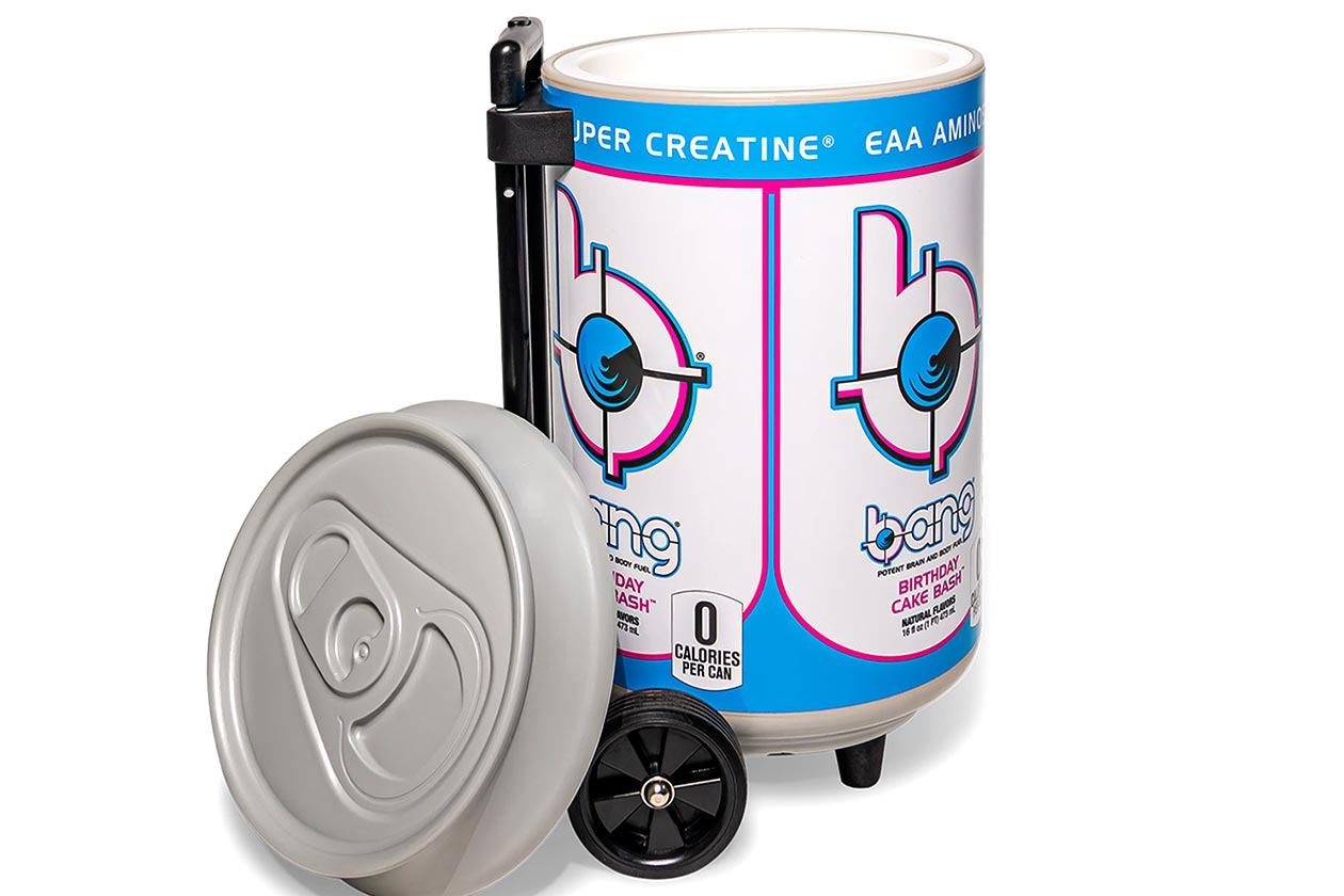 bang energy rolling can cooler