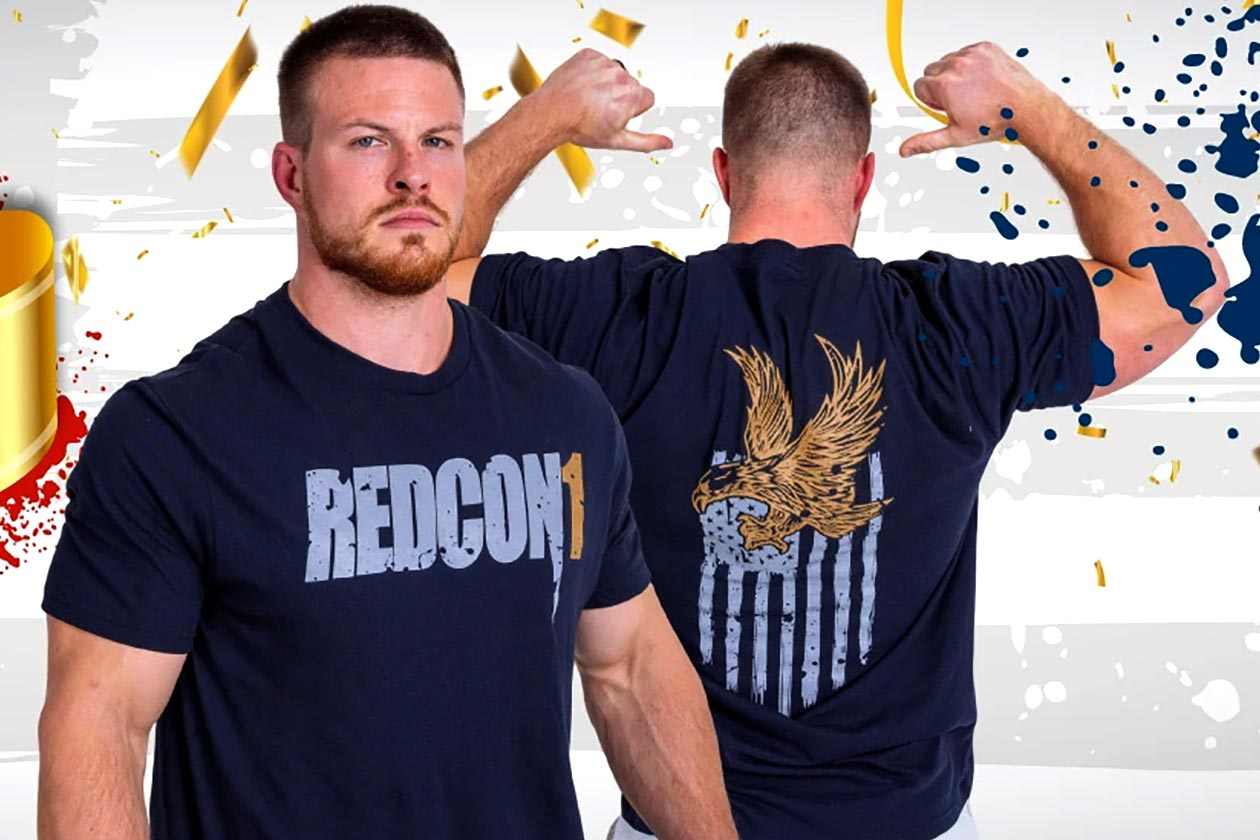 redcon1 americana tee for presidents day