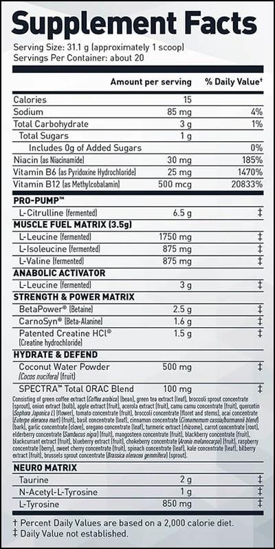 stimulant free pre-kaged