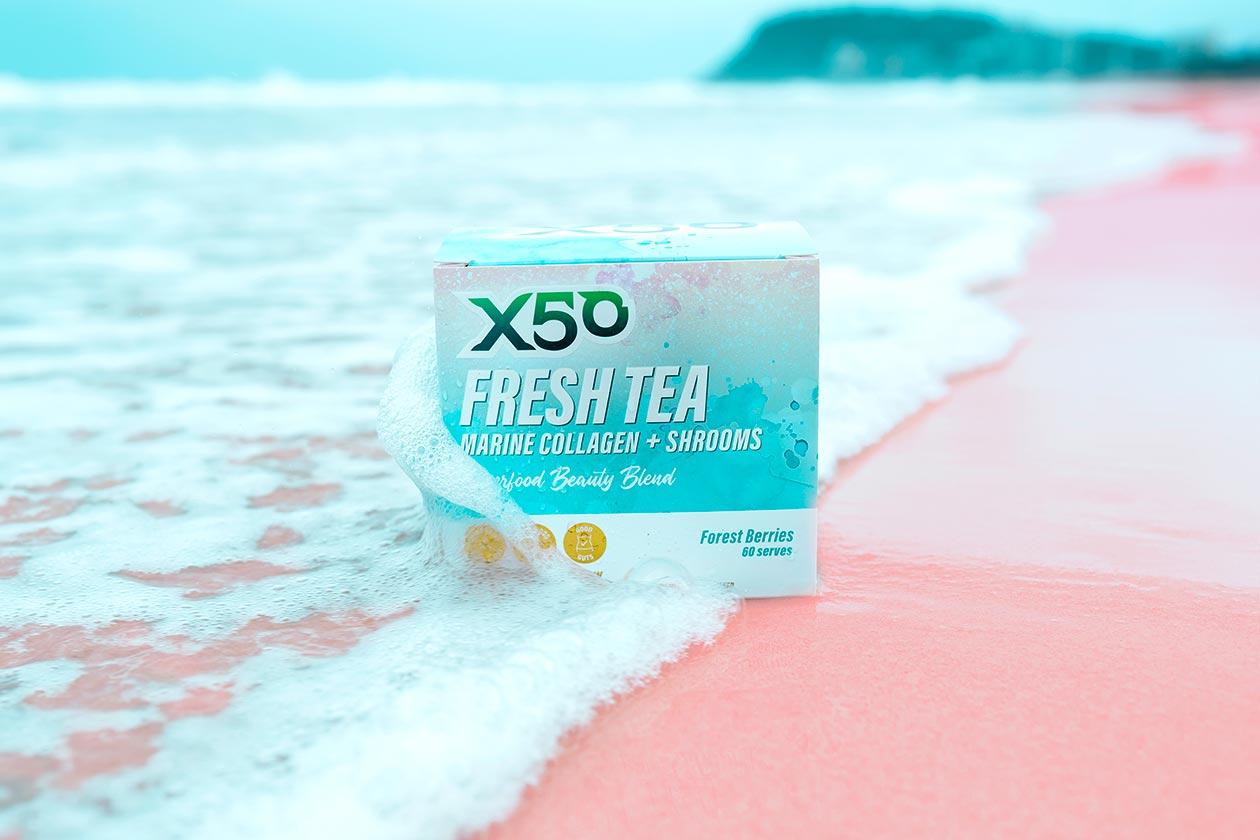 x50 fresh tea