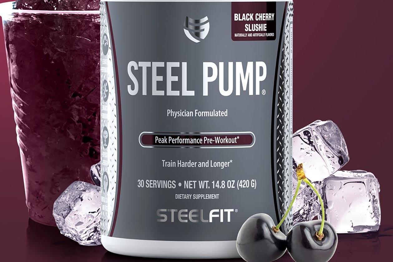 black cherry slushie steel pump