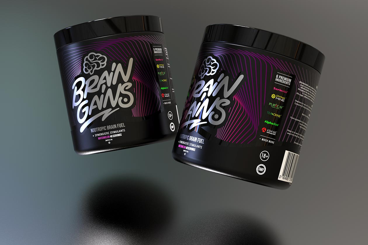 brain gains switch on black edition