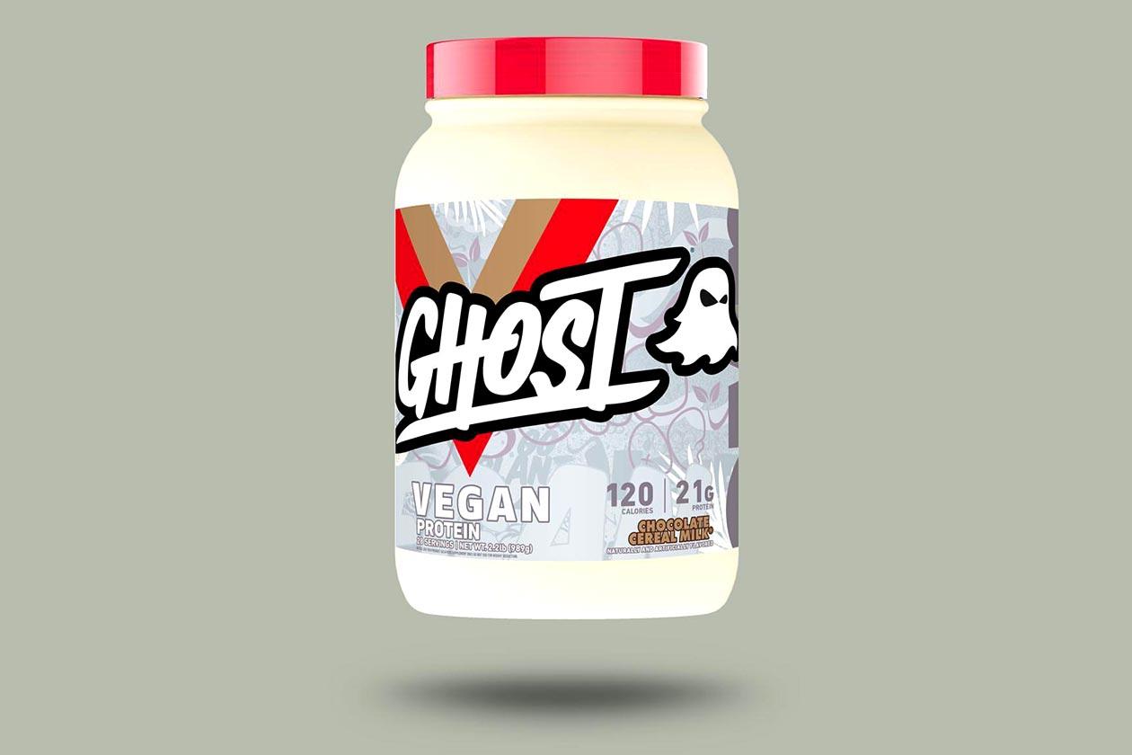 chocolate cereal milk ghost vegan