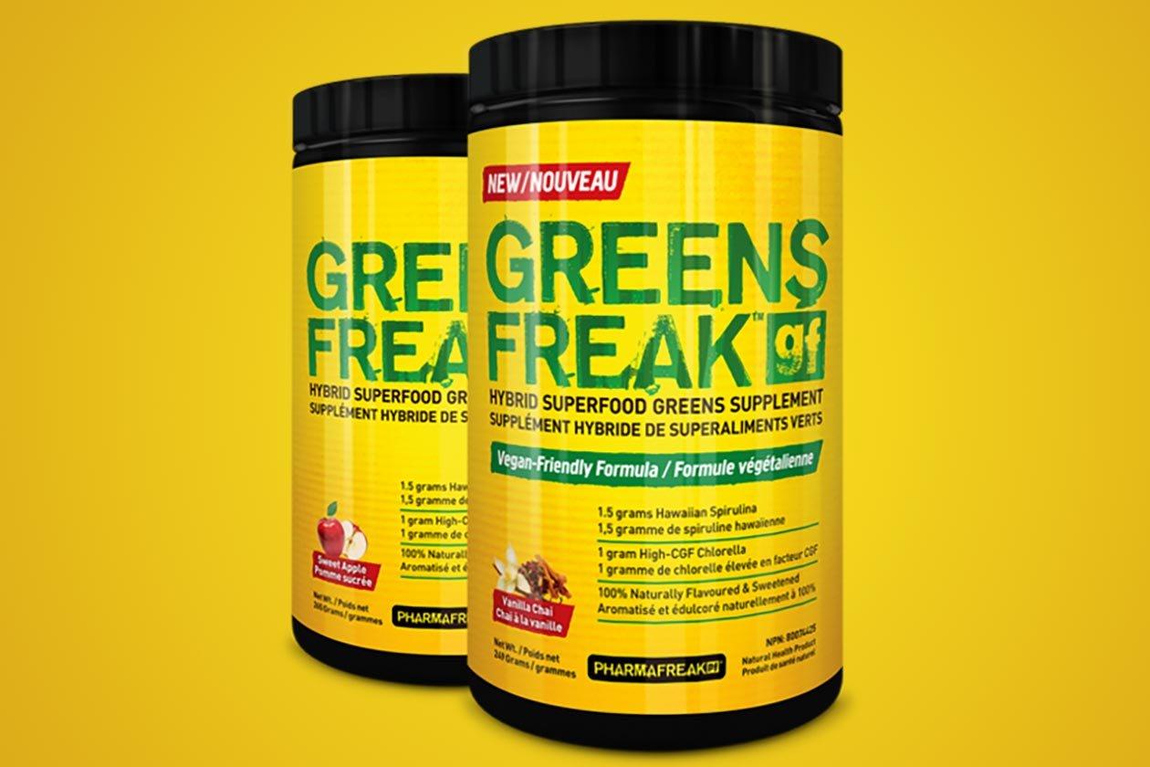 greens freak giveaway