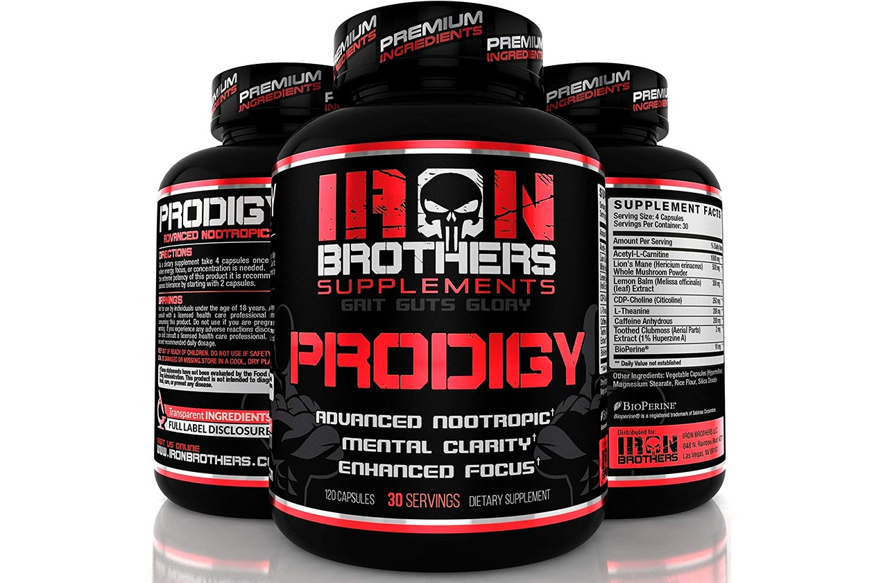 iron brothers prodigy lightning deal