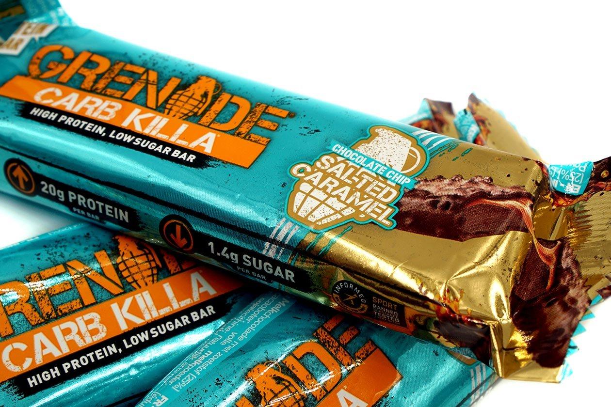 salted caramel carb killa review