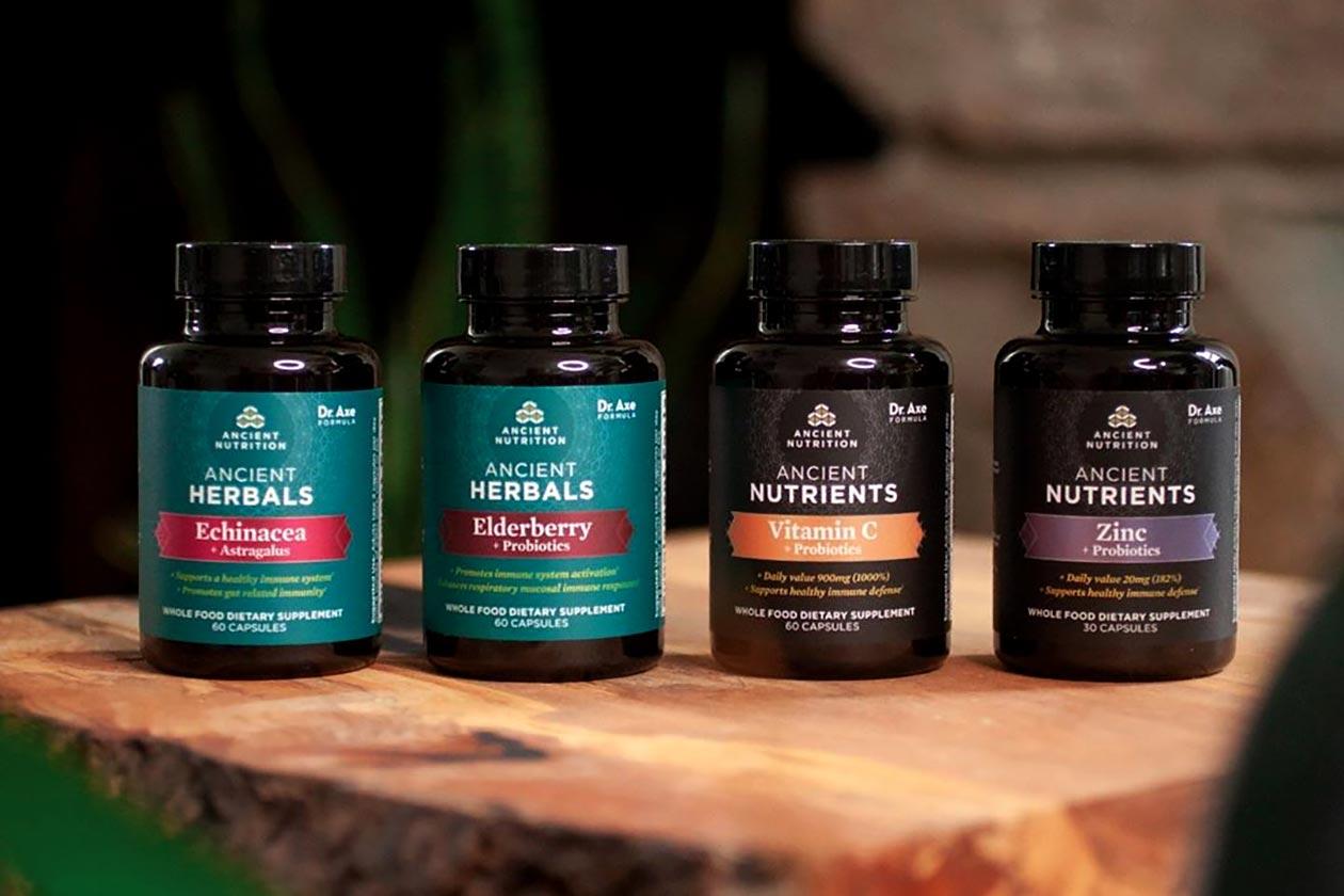 ancient nutrition immune health supplements
