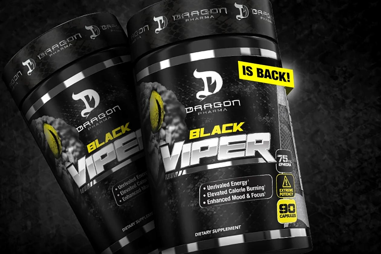 dragon pharma black viper
