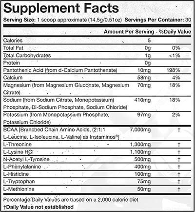 granite essential aminos