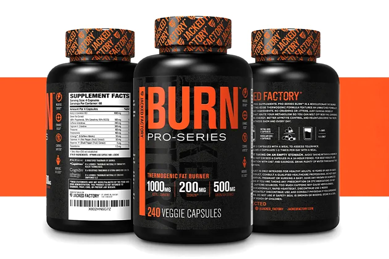 jacked factory burn pro series