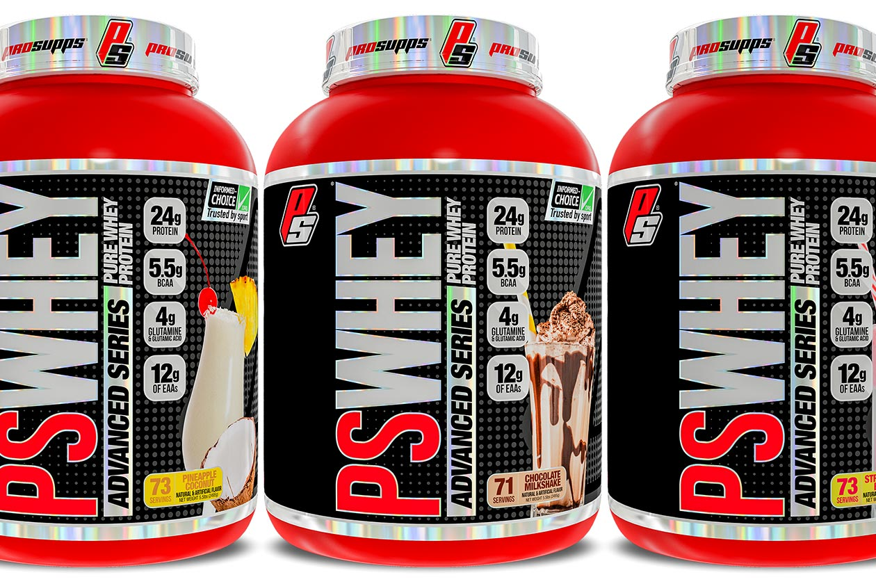 prosupps ps whey advanced series