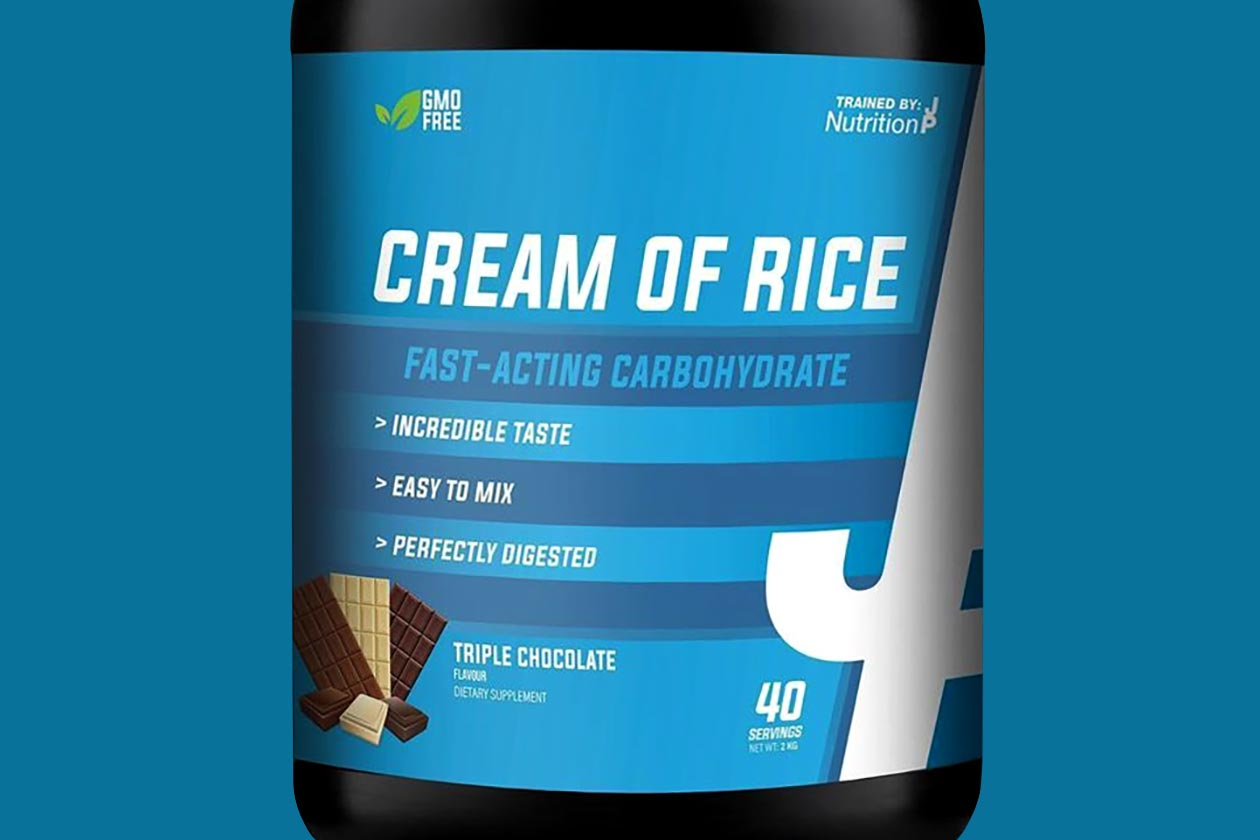 trained by jp nutrition cream of rice