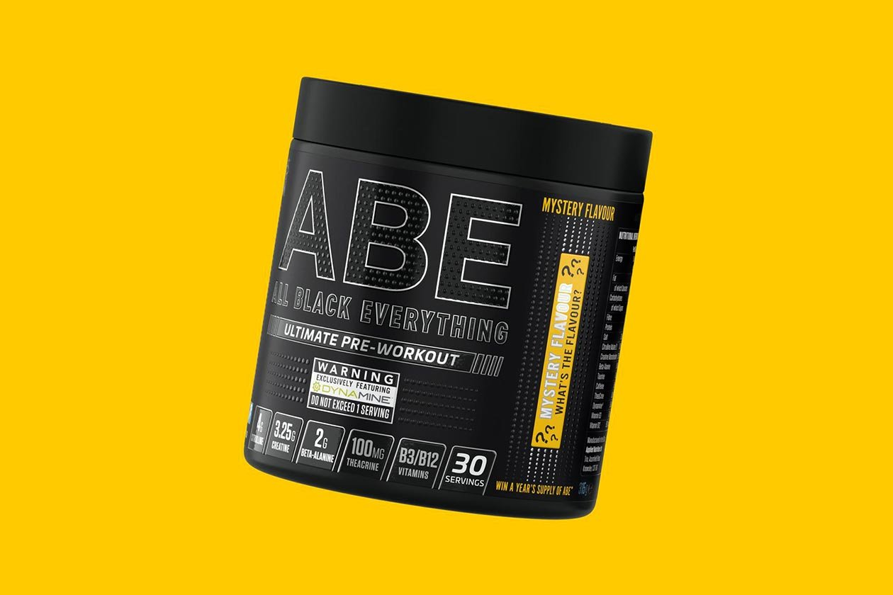 applied nutrition mystery flavor abe