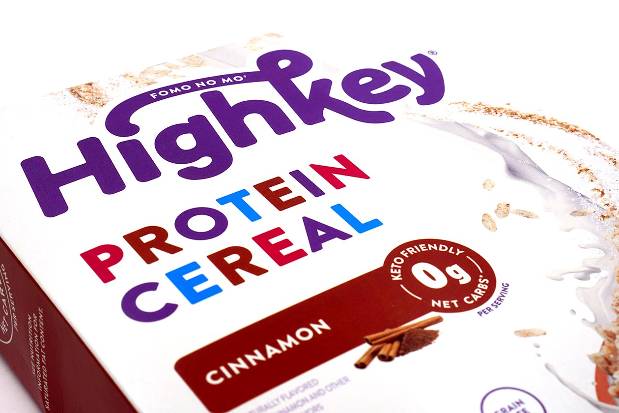 highkey protein cereral review