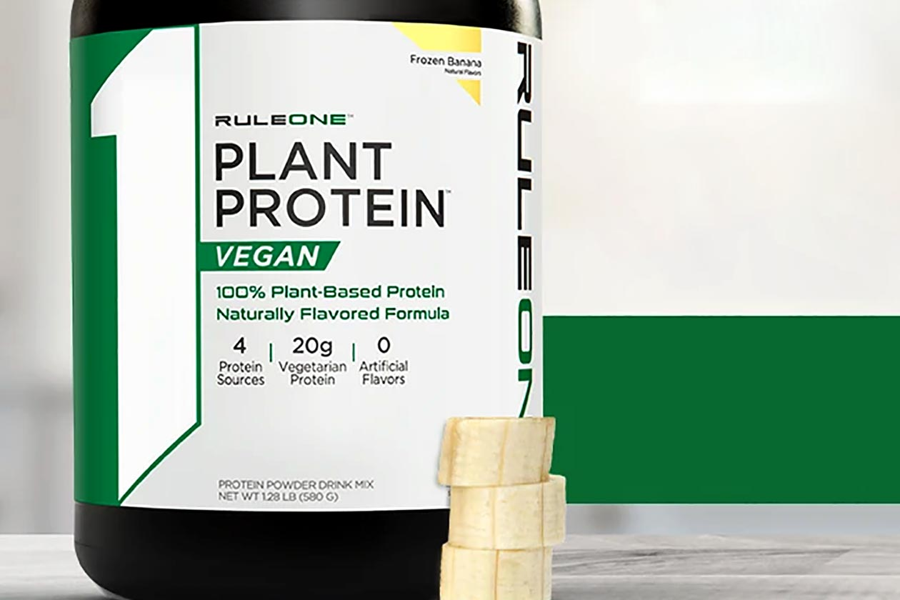 Rule One Proteins goes with a blend of sources for R1 Plant Protein