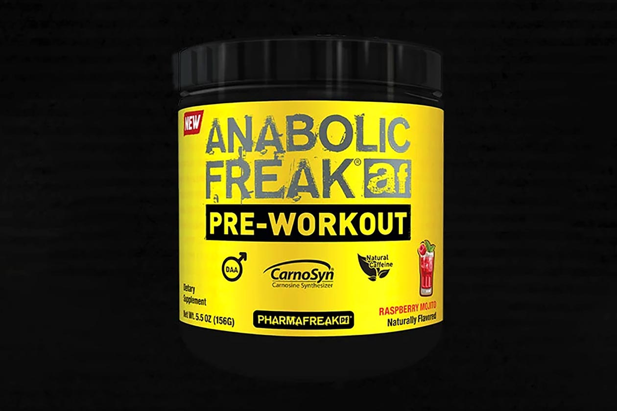 anabolic freak pre-workout