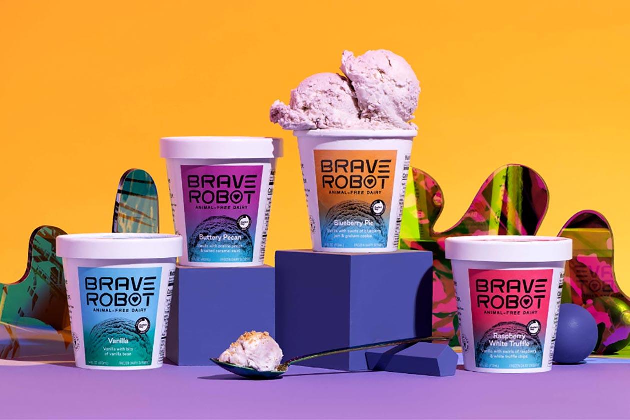 brave robot whey ice cream