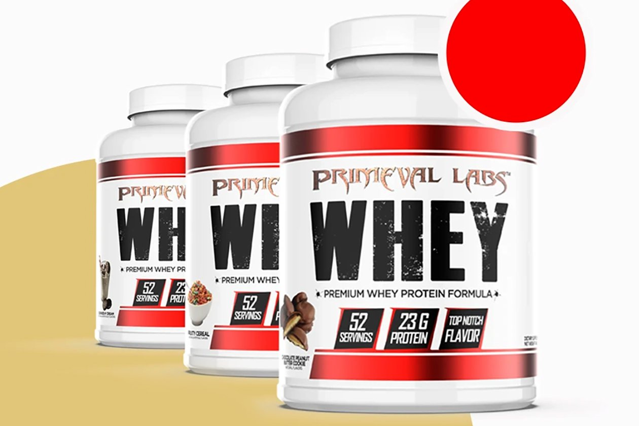 chocolate peanut butter cookie primeval labs whey