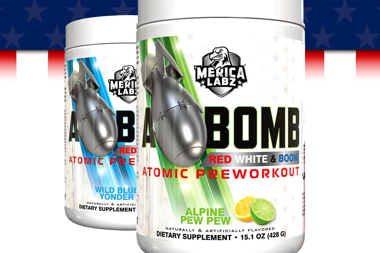 merica labz red white boom a bomb edition