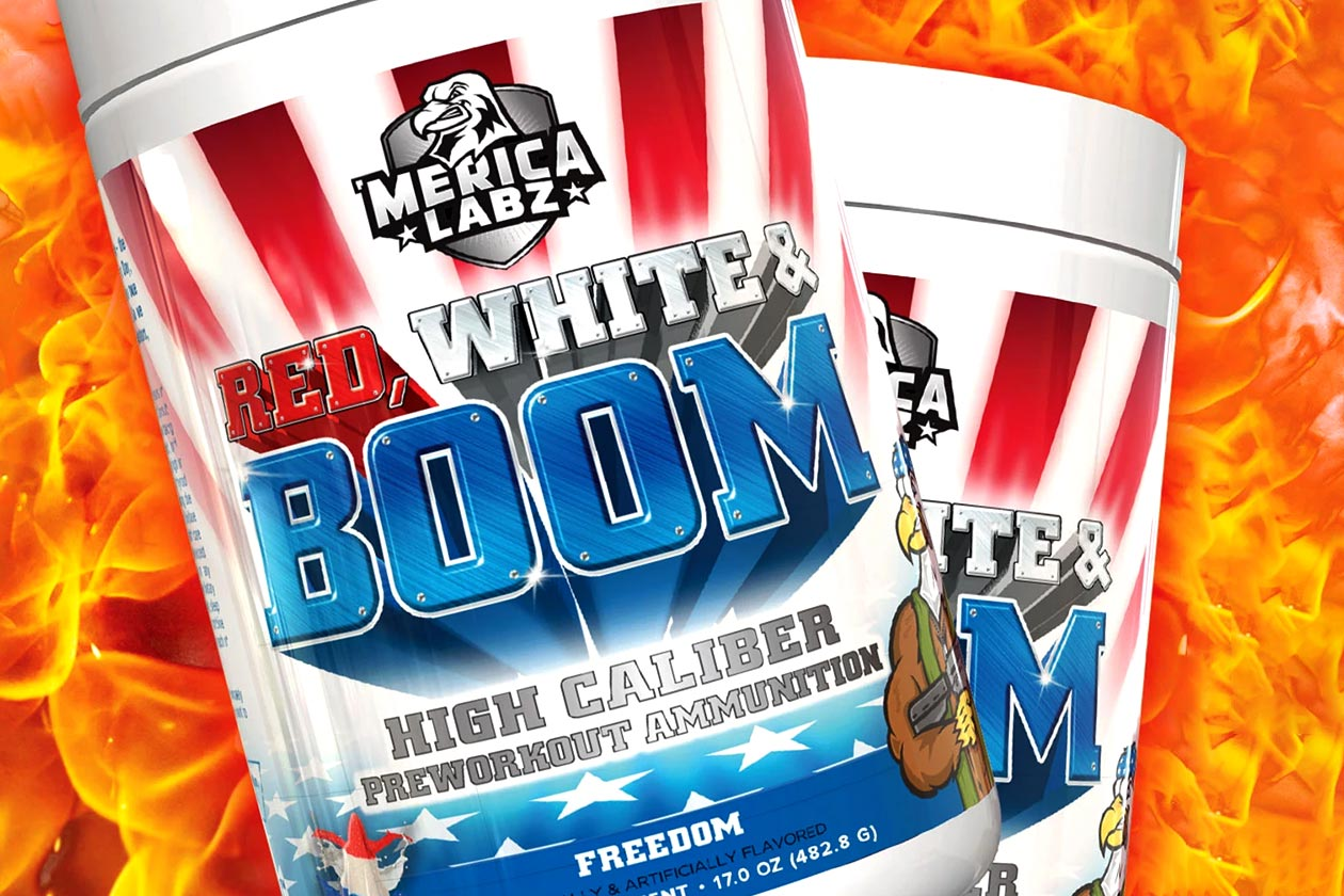 merica labz red white boom napalm edition
