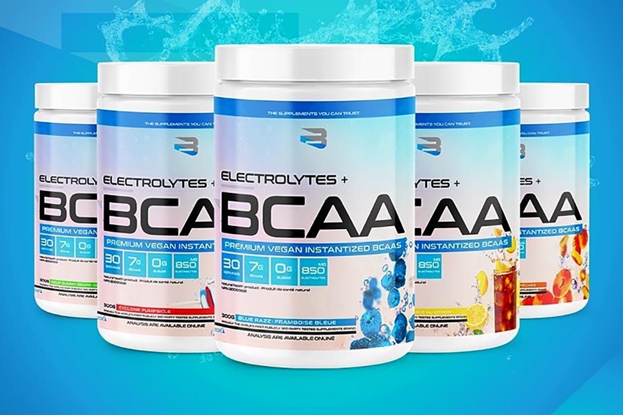 believe supplements electrolytes bcaa