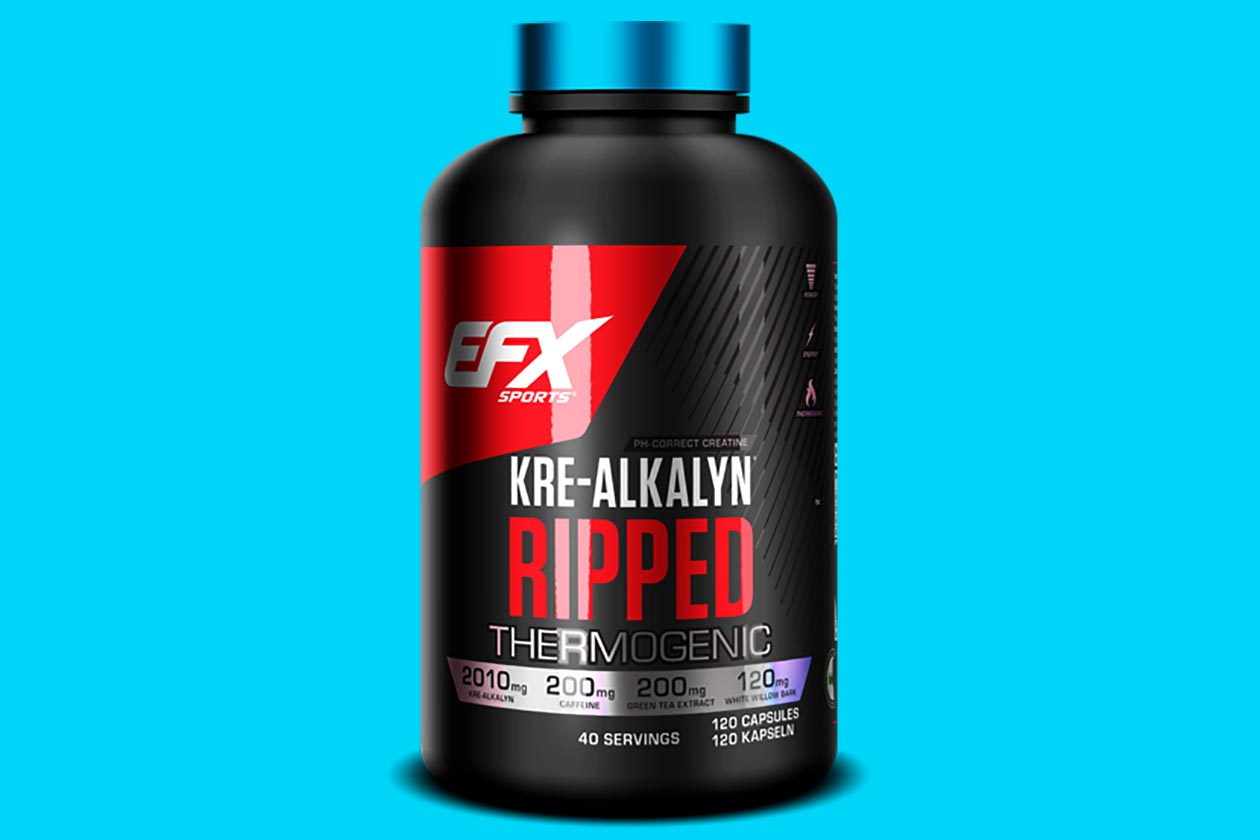 EFX Sports creates Kre-Alkalyn Ripped for Germany and ...