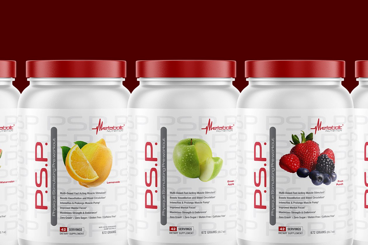 Metabolic packs just shy of 40g of actives in its revamped stim-free PSP