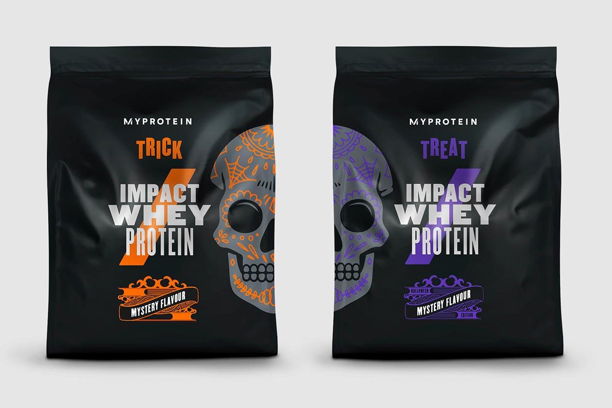 myprotein trick or treat impact whey protein