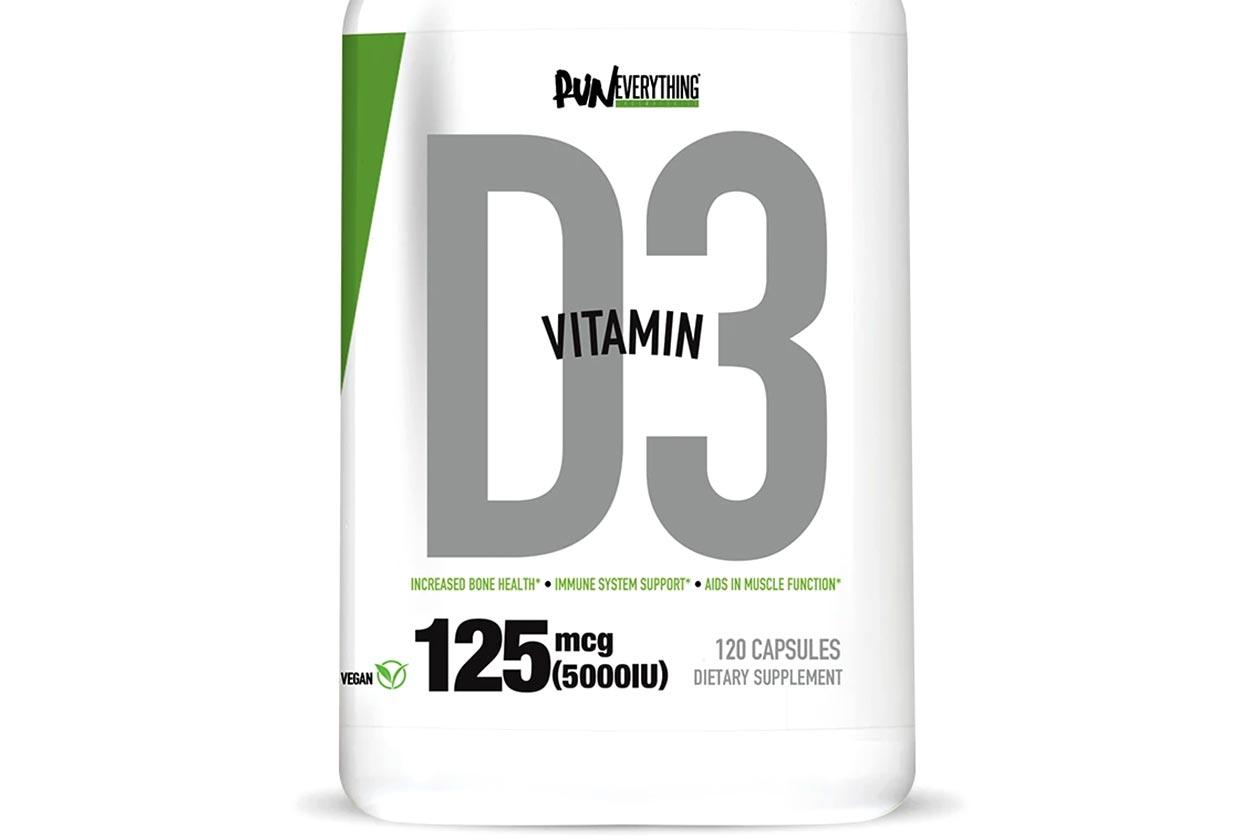 run everything labs vitamin d