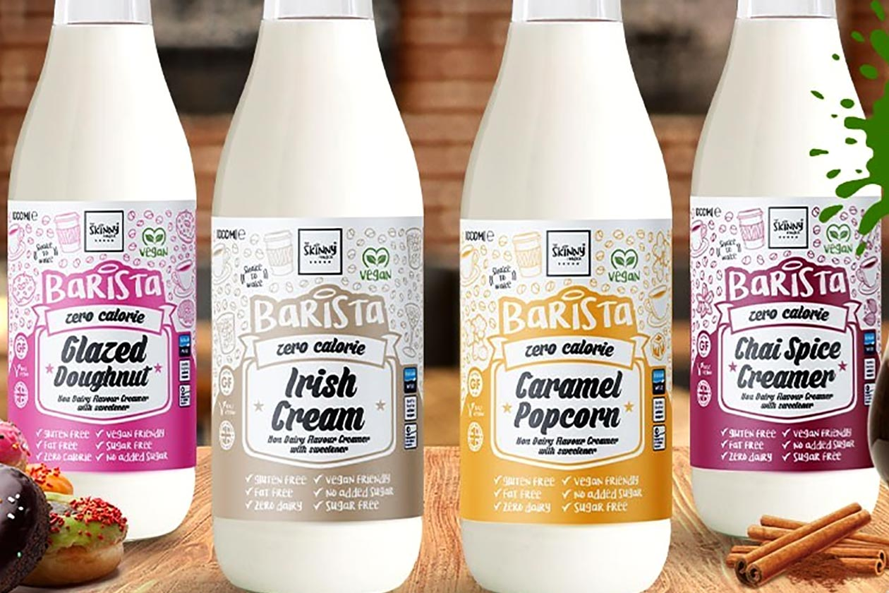 the skinny food co coffee creamer flavors and one liter bottle