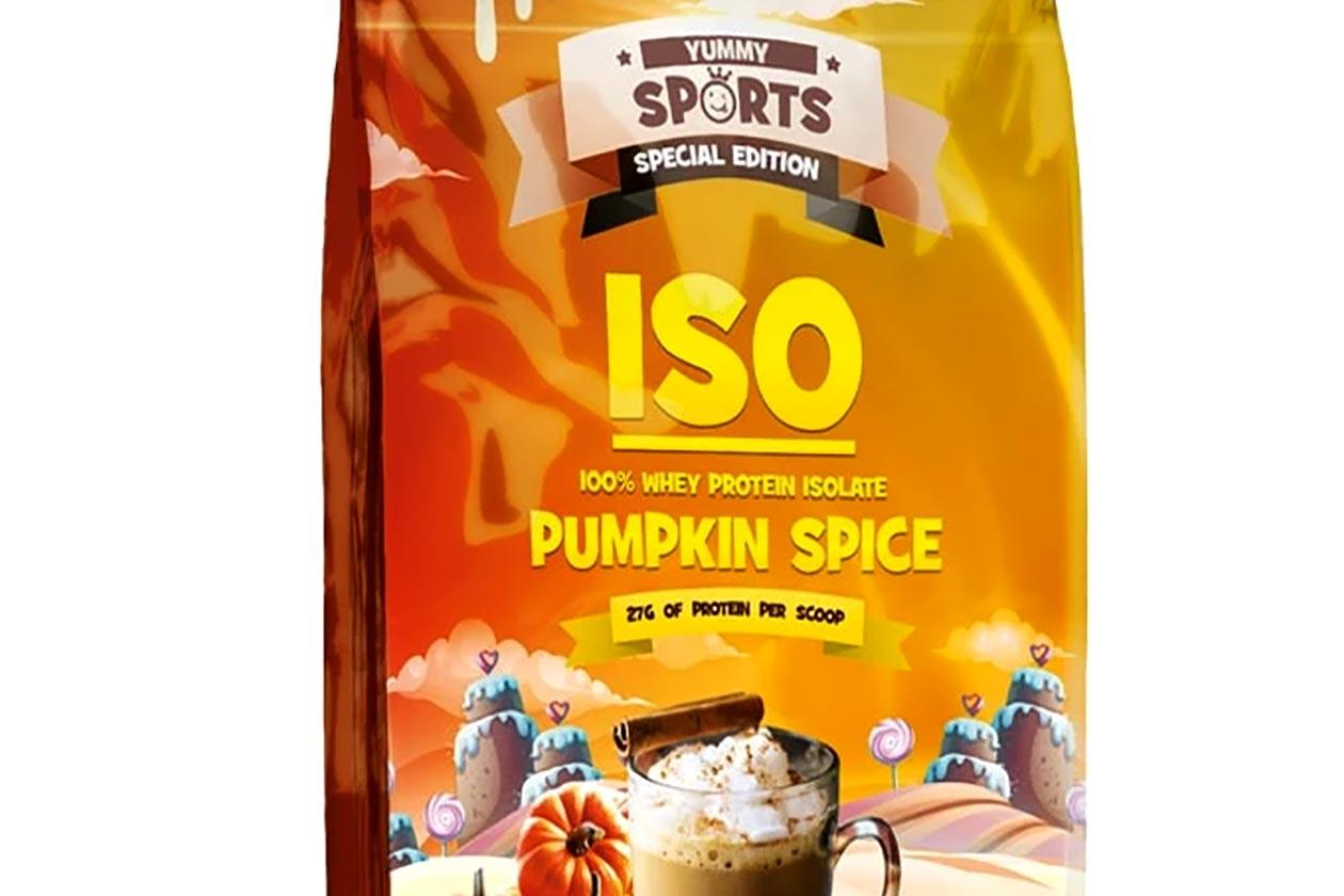 yummy sports pumpkin spice iso