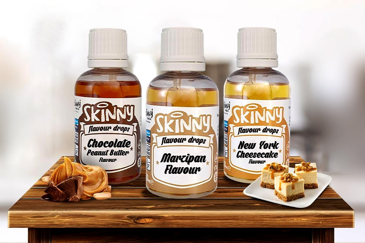 more flavors of skinny food flavor drops