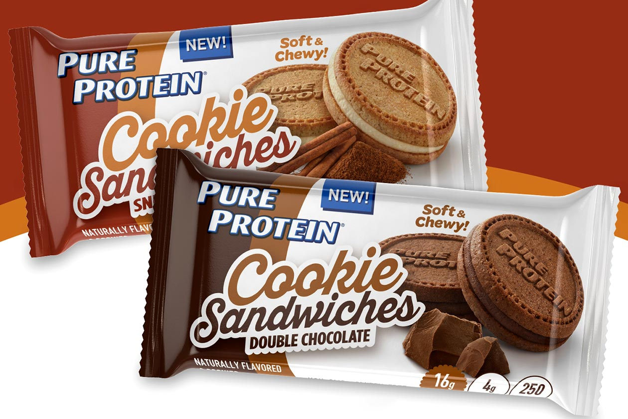pure protein cookies sandwiches