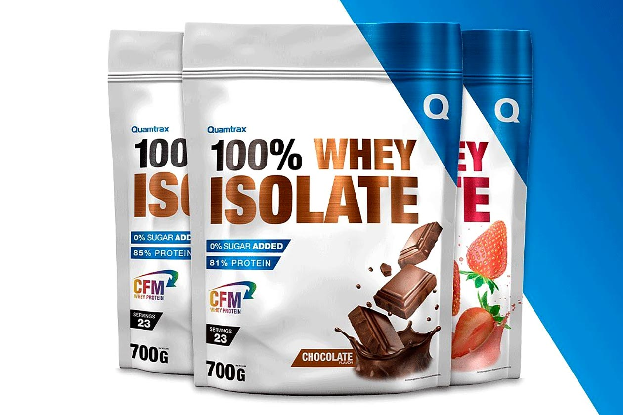 quamtrax whey isolate and concentrate protein