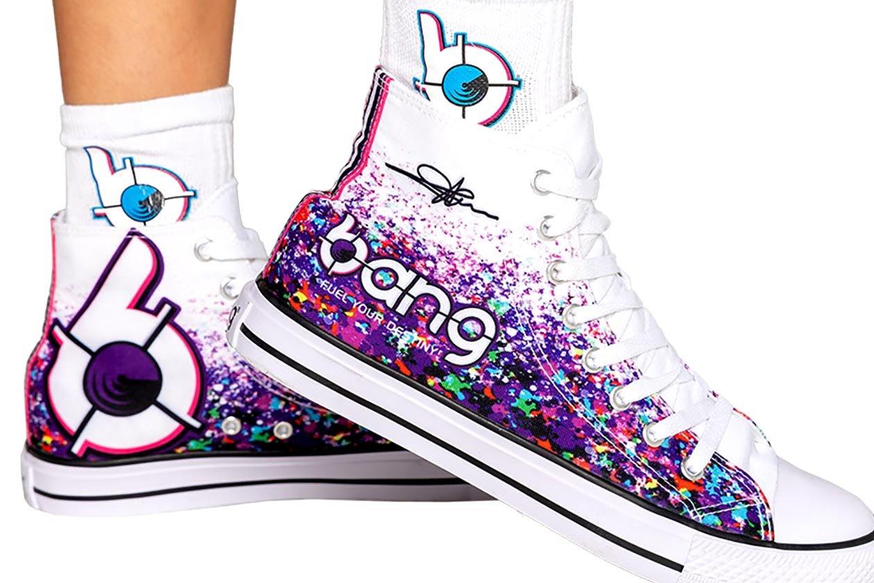 bang high top shoes