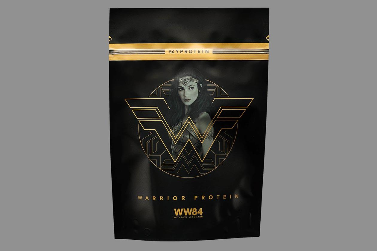myprotein x wonder woman 1984 warrior protein