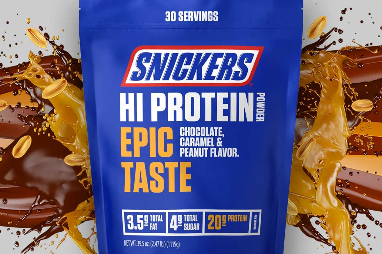 Authentic Snickers Hi Protein Powder And Bar Now Available In The Us