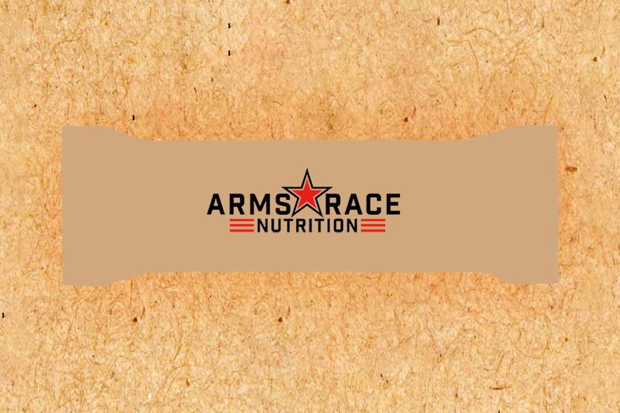arms race nutrition protein bar