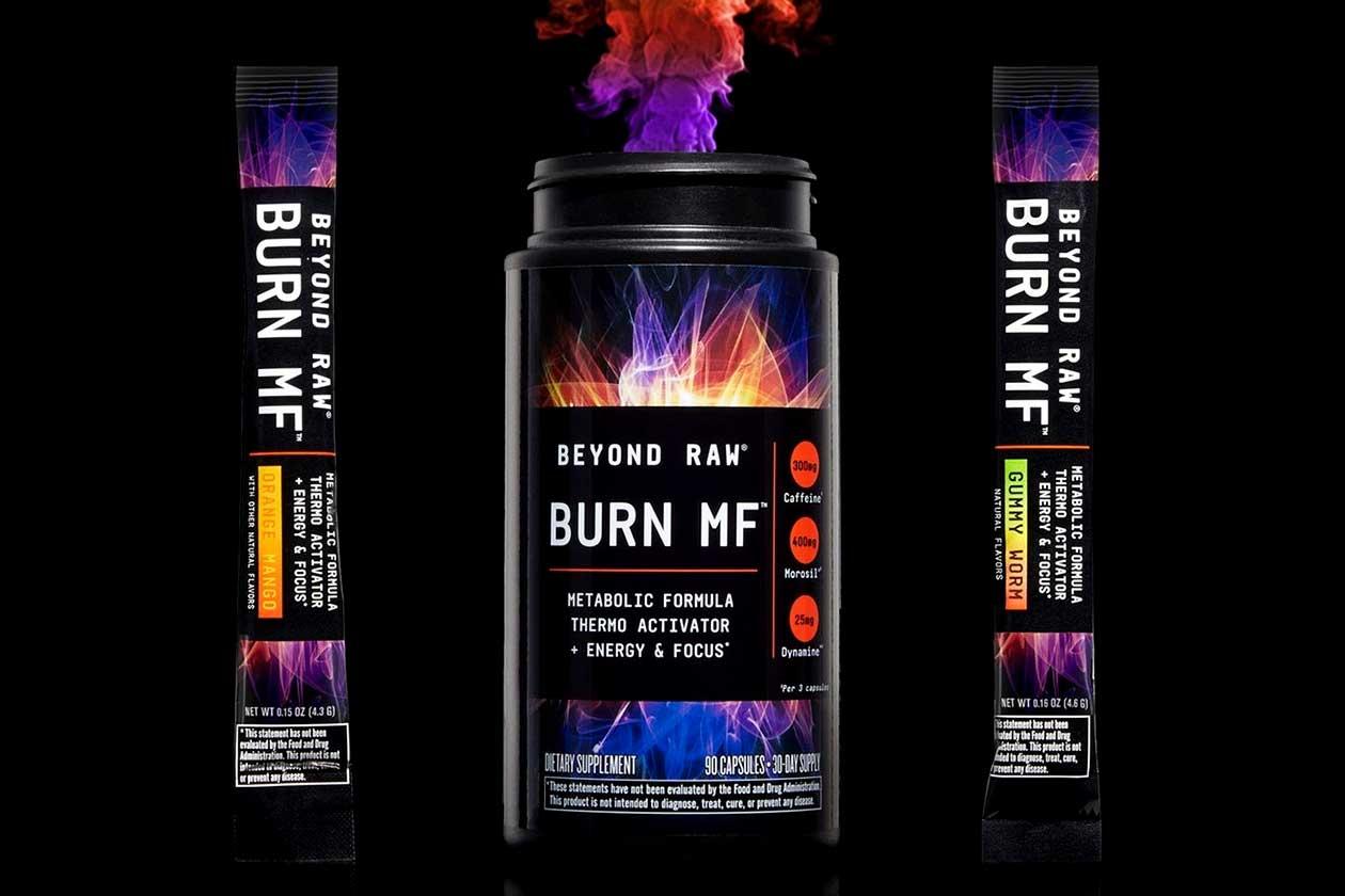 beyond raw gummy worm burn mf