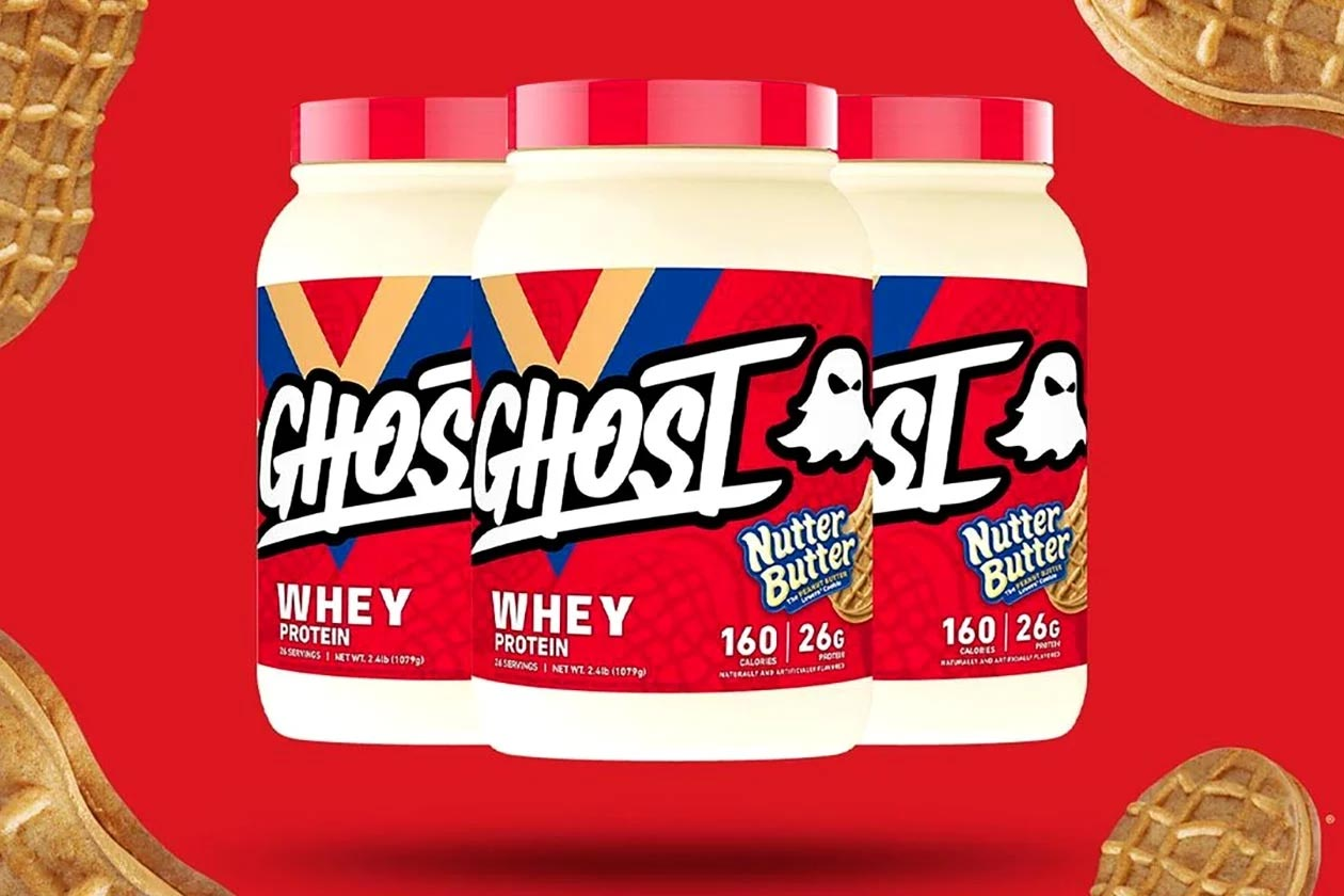 nutter butter ghost whey