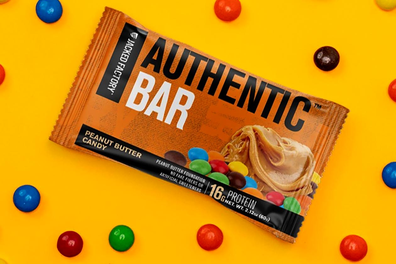 jacked factory authentic protein bar