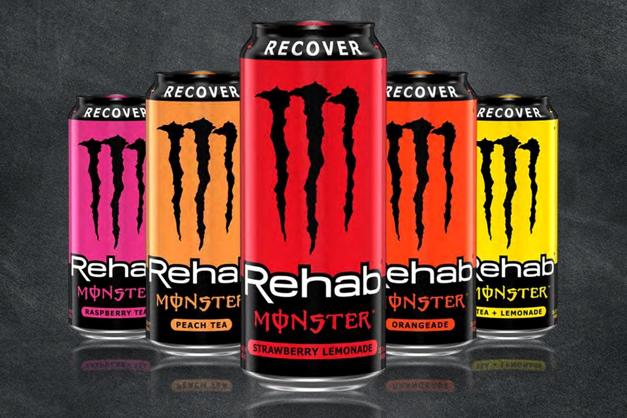 strawberry lemonade monster rehab and rebrand