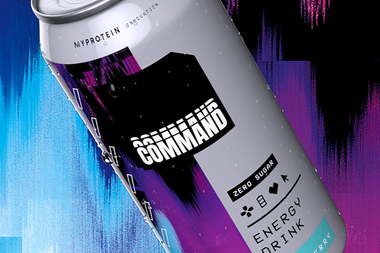 myprotein command energy drink