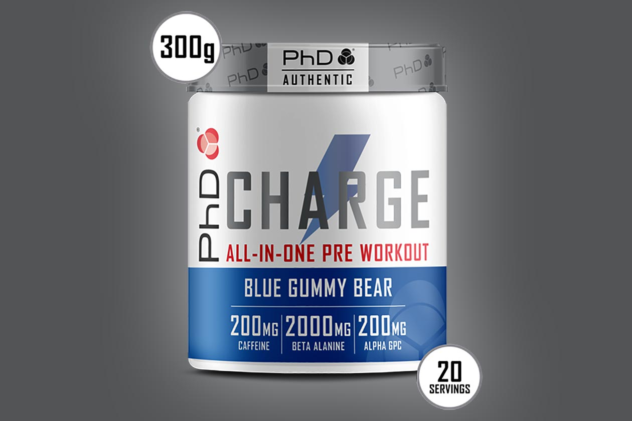 phd nutrition charge pre-workout