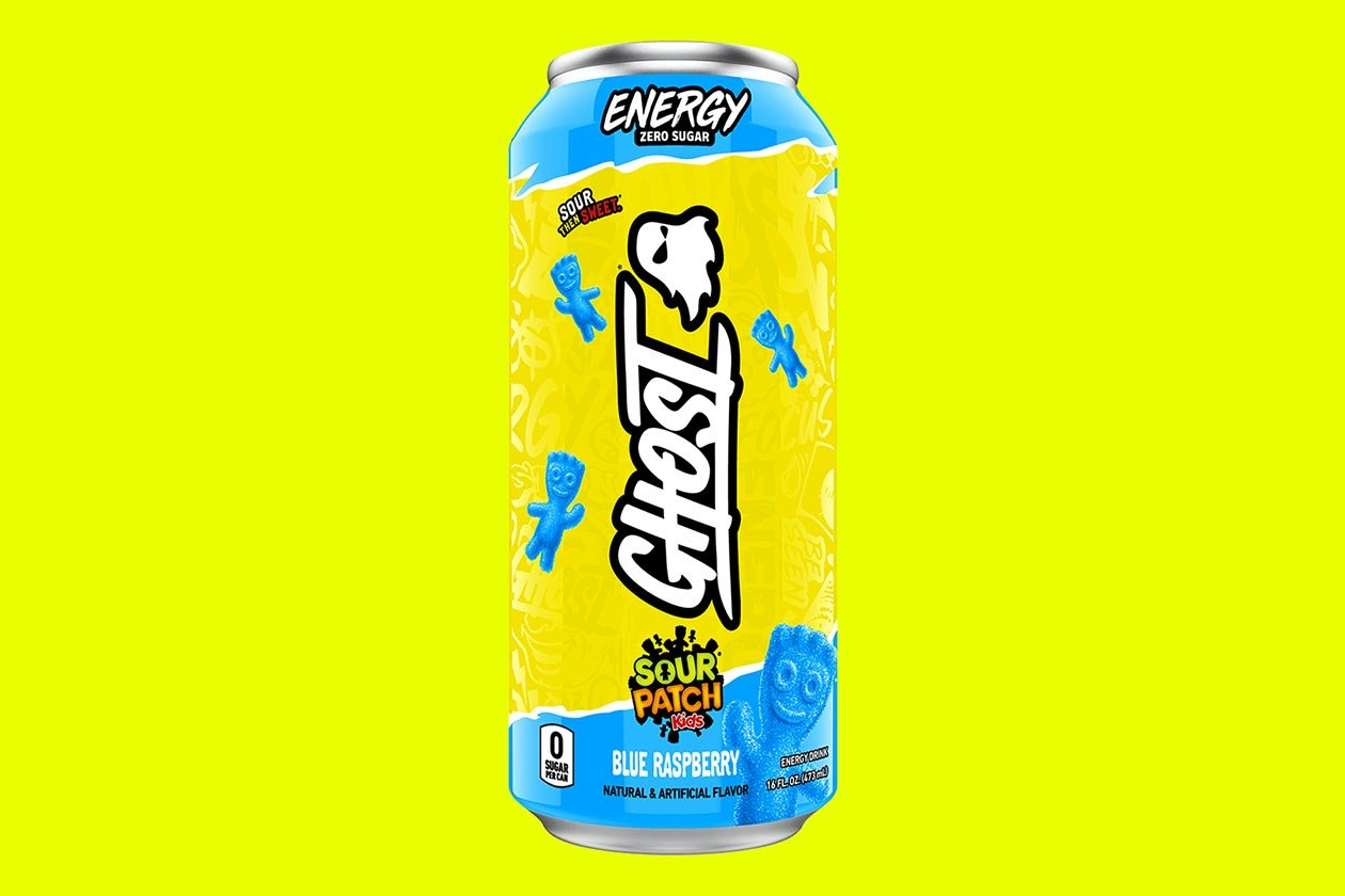 sour patch kids blue raspberry ghost energy