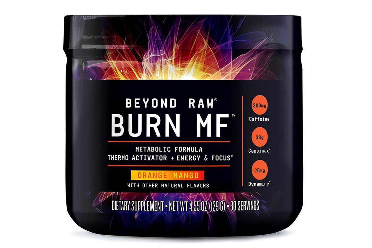 beyond raw orange mango burn mf