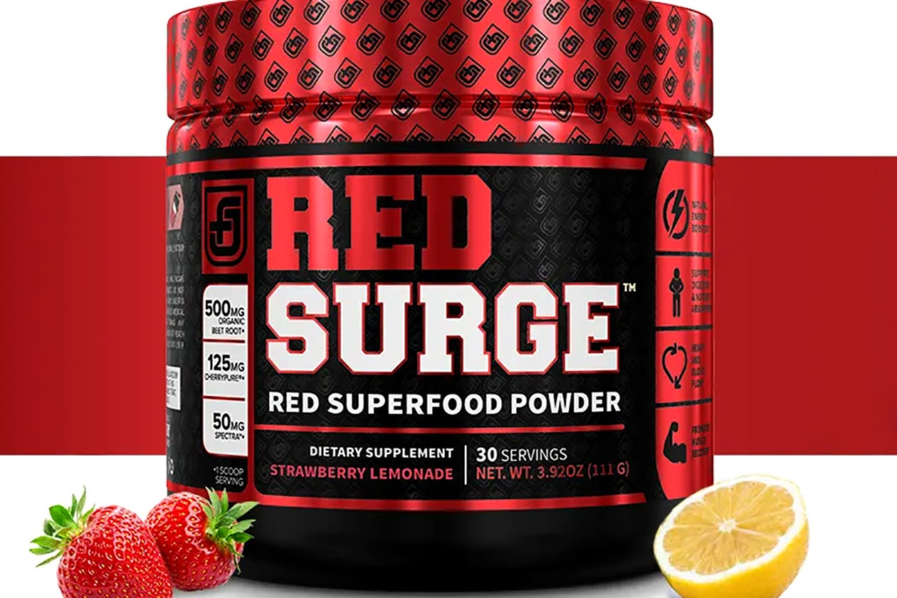 jacked factory red surge
